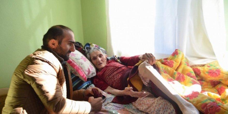 115 yaşındaki Balli Nine'nin yol hayali