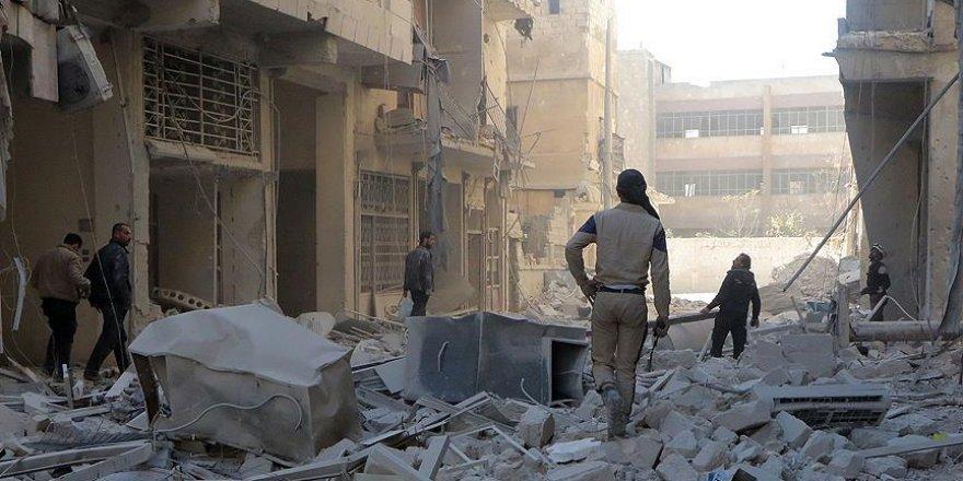 Halep'te yerleşim yerine saldırı: 15 ölü, 50 yaralı