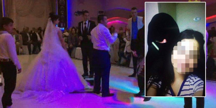 'Çarşaflı' erkek evlendi