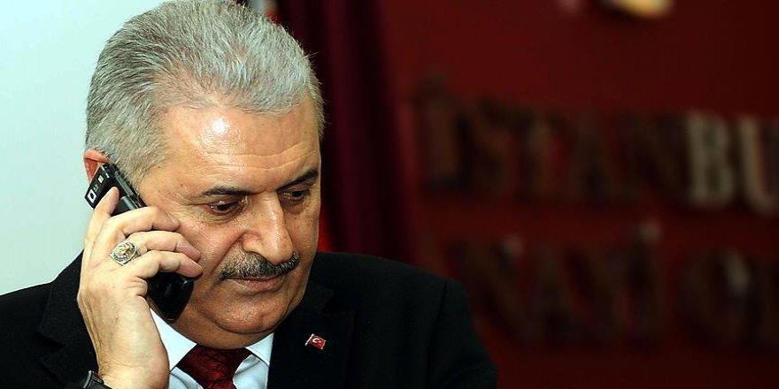 Yıldırım, El Bab'da Türk askerlerine saldırıyla ilgili bilgi aldı