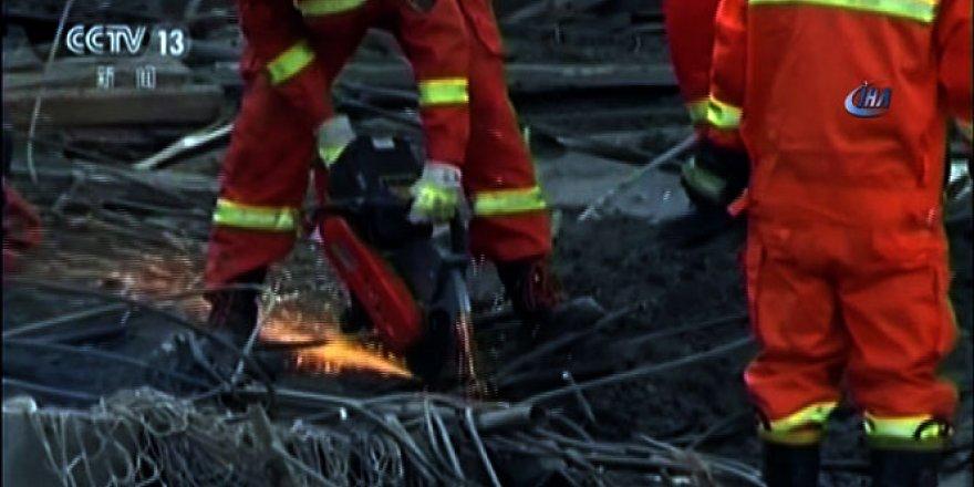 Çin'de facia: En az 40 işçi öldü