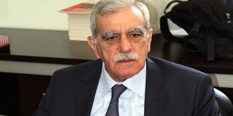 Ahmet Türk tutuklama talebiyle mahkemeye sevk edildi