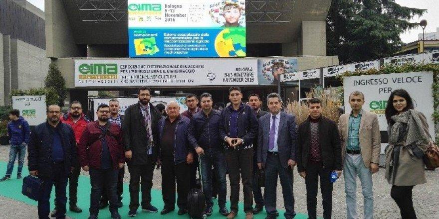 KSO, İtalya'daki tarım makineleri fuarına iş gezisi düzenledi