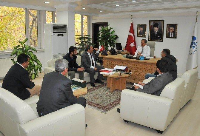 Akşehir Belediyesi'nde kış tedbirleri toplantısı