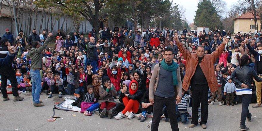 Bulgaristan'daki sığınmacı kampında olaylar çıktı