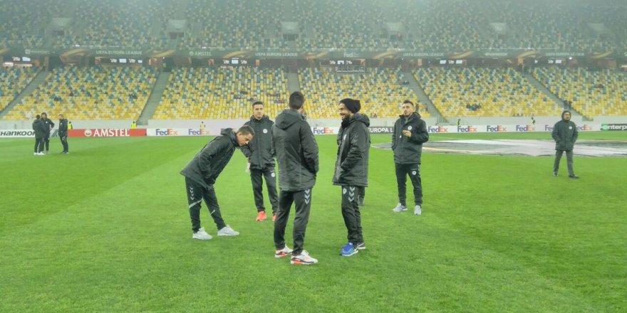 Konyaspor'un Shakhtar Donetsk maçı 11'i