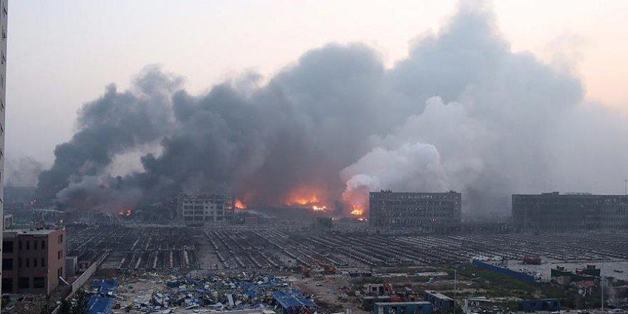 Çin'de askeri fabrikadaki patlama: 12 ölü