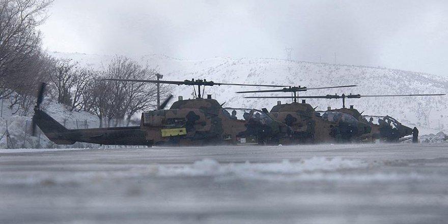 Tunceli'de teröristlerin kış üslenmesine operasyon