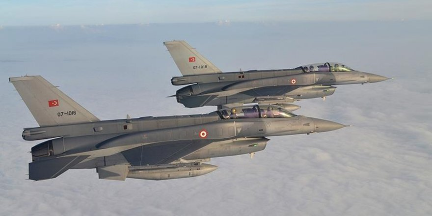 Turkish warplanes hit 9 Daesh targets in northern Syria
