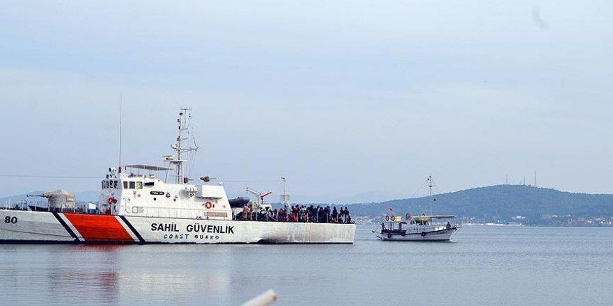 Ege Denizi'nde 4 günde 132 sığınmacı kurtarıldı