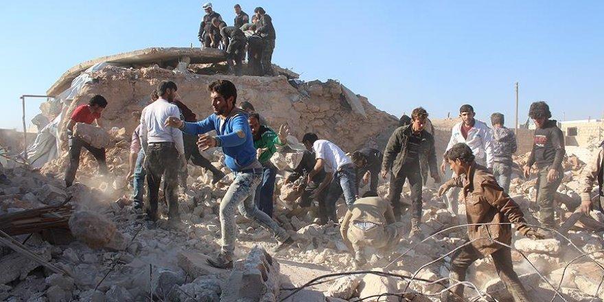 Halep'te yerleşim yerine saldırı: 7 ölü, 20 yaralı