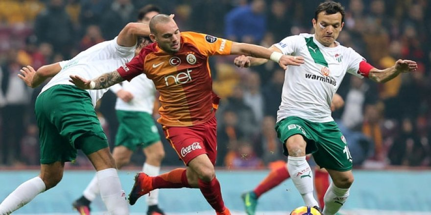 Galatasaray Bursa'ya geçit vermedi!