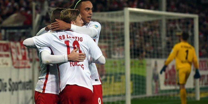 RB Leipzig yenilgisiz devam ediyor