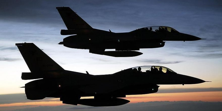 Terör örgütü DEAŞ'a ait 12 hedef vuruldu