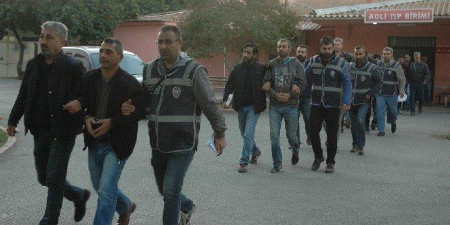 Adana polisinden aranan şahıslara yönelik operasyon: 9 gözaltı