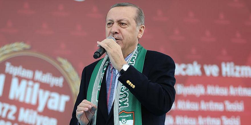 Cumhurbaşkanı Recep Tayyip Erdoğan: Haddinizi bilin