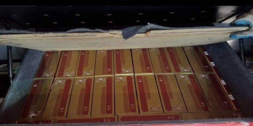 Şanlıurfa'da kaçak sigara ve nargile tütünü operasyonu