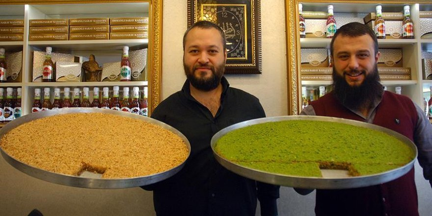 Osmanlı kadayıfı yeniden sofralarda