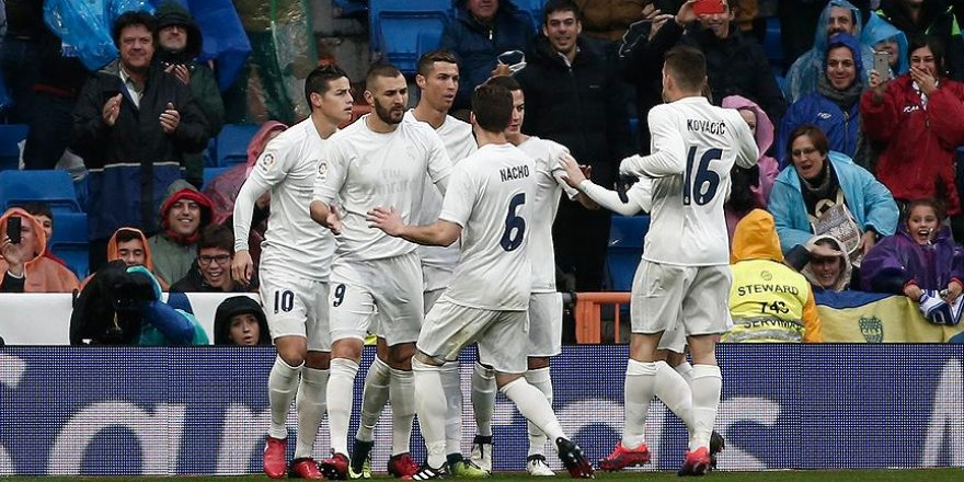 Real Madrid'den üst üste 6. galibiyet