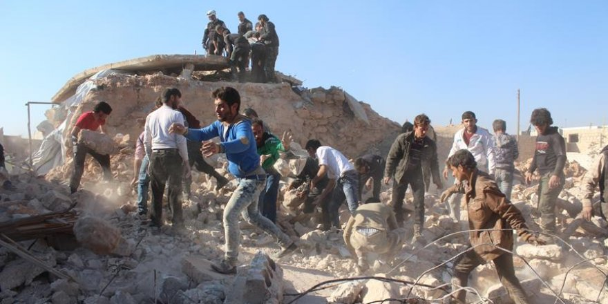 Halep'te yerleşim yerlerine saldırı: 46 kişi öldü
