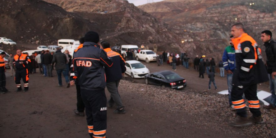 Göçük altında kalan 11'inci işçiye ulaşıldı