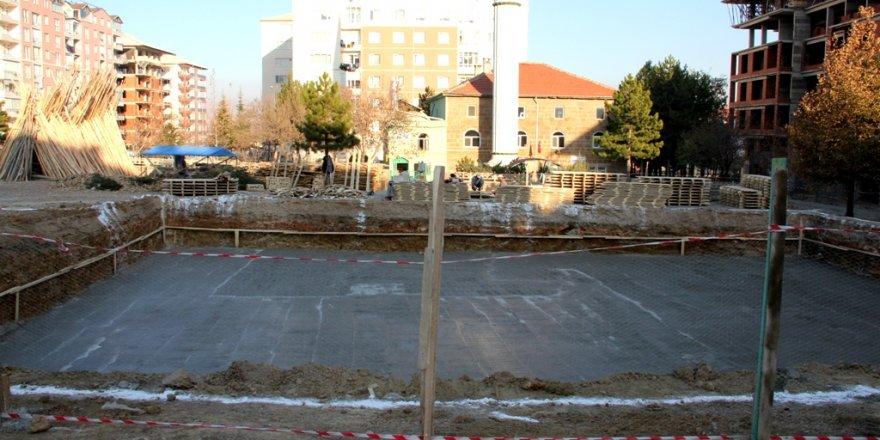 Seydişehir'de cami inşaatı temel atma töreni
