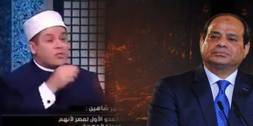 Sisi yanlısı Şeyh'ten Erdoğan düşmanlığı