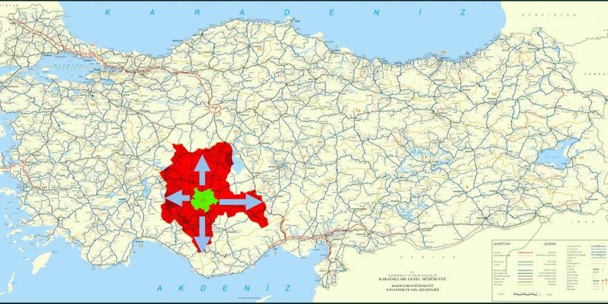 Konya Büyükşehir'den 31 ilçeyi kapsayan yeni kent bilgi sistemi