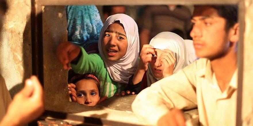 """Bombalardan kurtulan Haleplileri bekleyen tehlike: """"Açlık"""""""