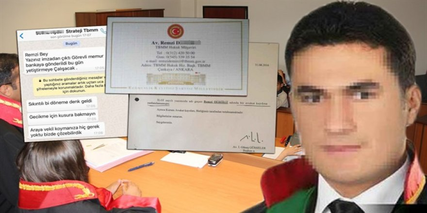 Sahte avukat gerçek avukatları dolandırdı: 3 milyon lira topladı
