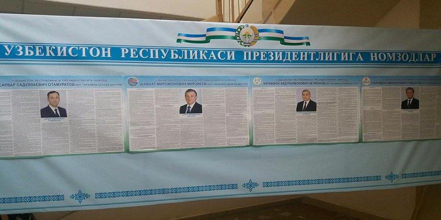 Özbekistan'da cumhurbaşkanlığı için 4 aday yarışacak