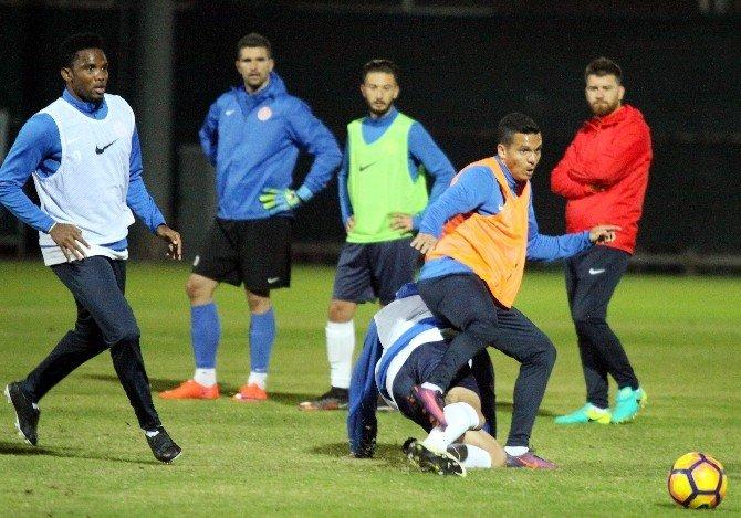 Antalyaspor, Başakşehir hazırlıklarına başladı