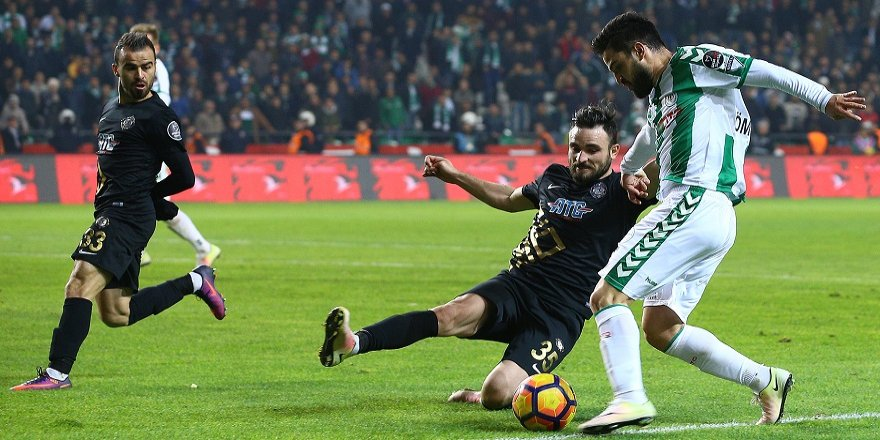 Maçın en çok koşanı Ömer Ali Şahiner