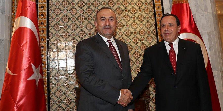 Çavuşoğlu, Cihinavi ile görüştü