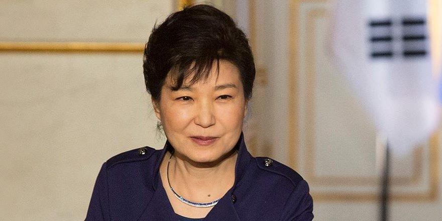 Güney Kore Devlet Başkanı Park'tan istifa açıklaması