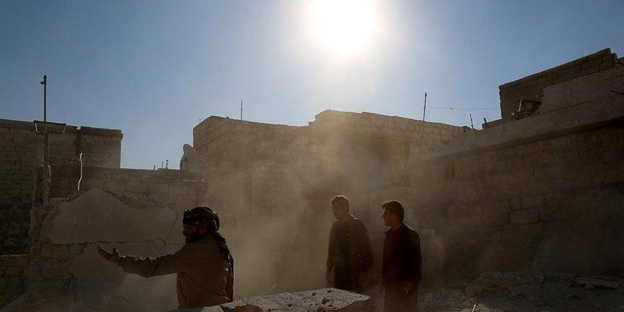 """""""Halep'te Türkmen mahalleleri tamamen yıkıldı"""""""