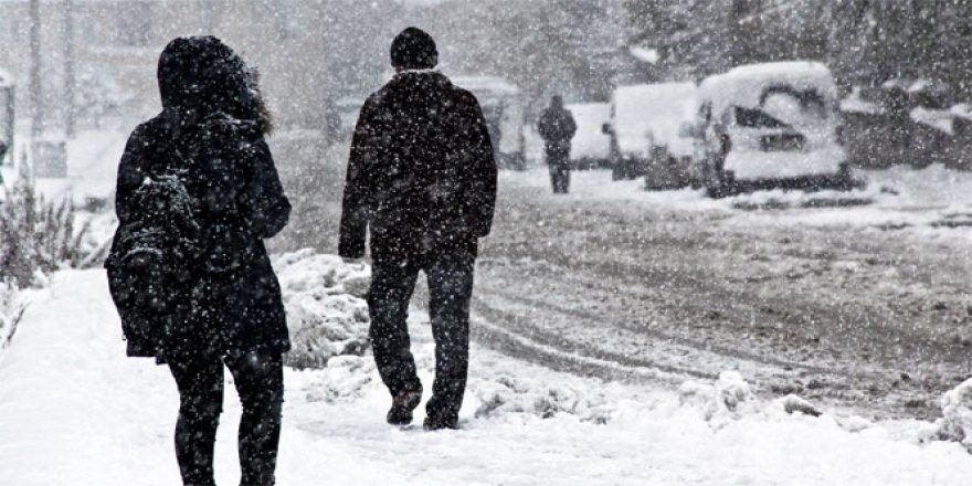 Meteoroloji uyardı: Doğu'ya kar geliyor
