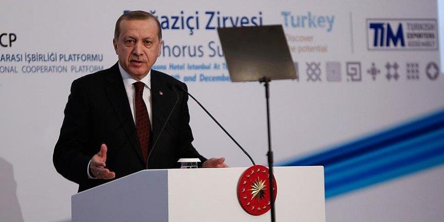 """Erdoğan'dan çağrı: """"Dövizi bırakalım"""""""