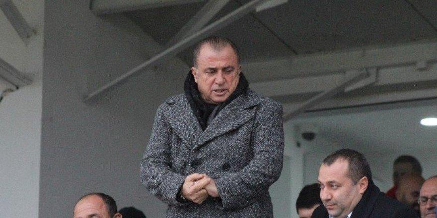 Fatih Terim, Ziraat Türkiye Kupası maçını izledi