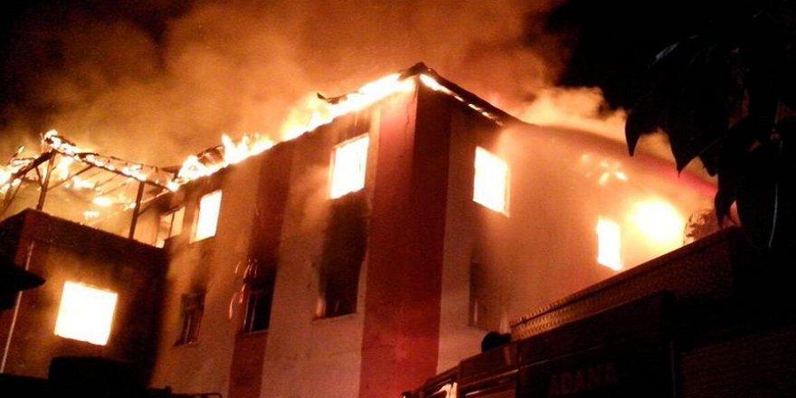 Yurt yangını ile ilgili Araştırma Komisyonu kurulacak