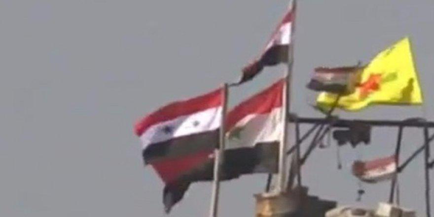 Esed ve terör örgütü YPG yan yana