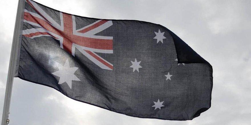 Avustralya meclisinde sığınmacılara destek eylemi