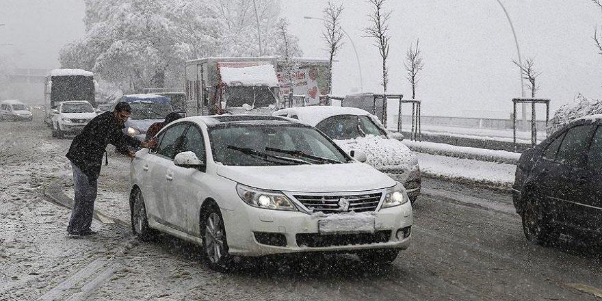 Ankara için 'kar yağışı' uyarısı