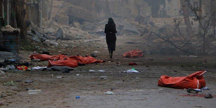Halep'te sivillere yönelik saldırıda 45 kişi öldü