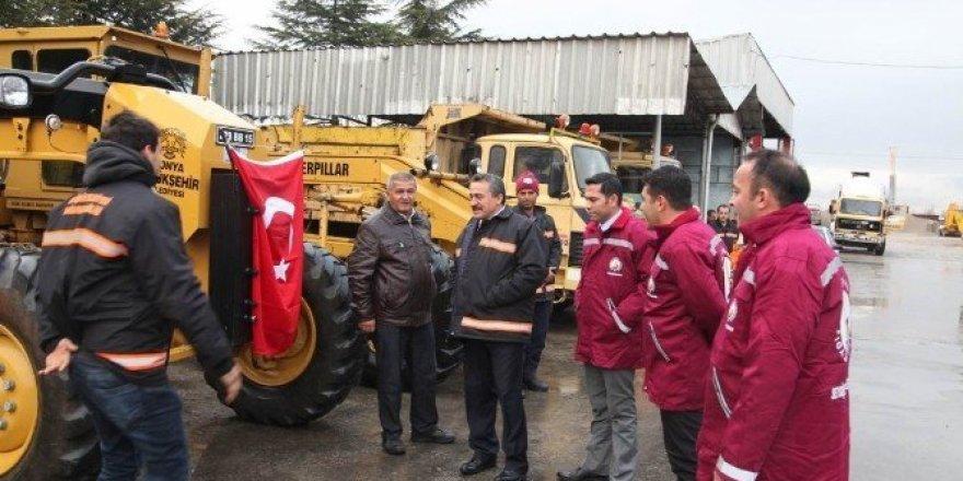 Seydişehir Belediyesi kışa hazır