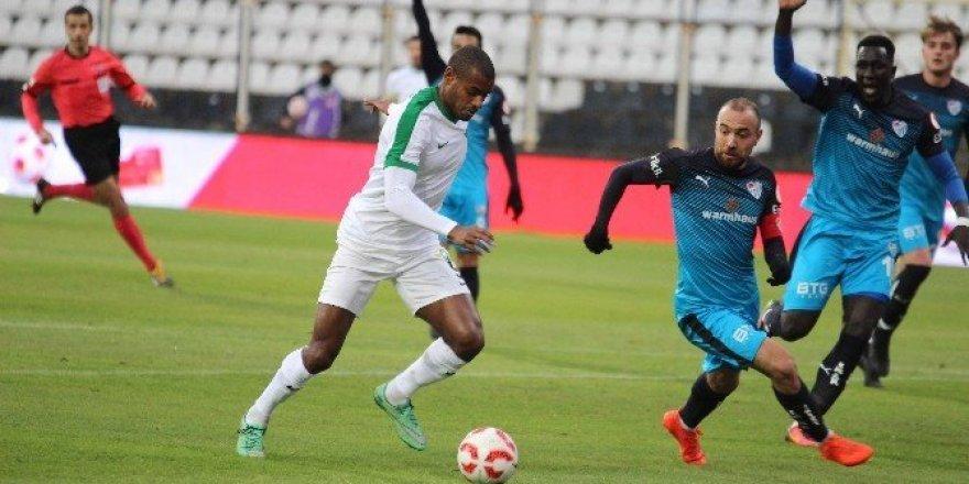 Manisa'daki 6 gollük maçta kazanan çıkmadı