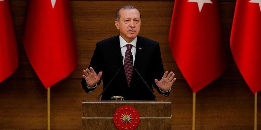 Erdoğan: Fırat Kalkanı Operasyonu'nun hedefi bir ülke veya kişi değil
