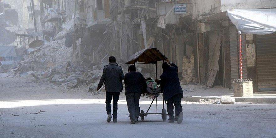 Halep'te depolar hastane oldu