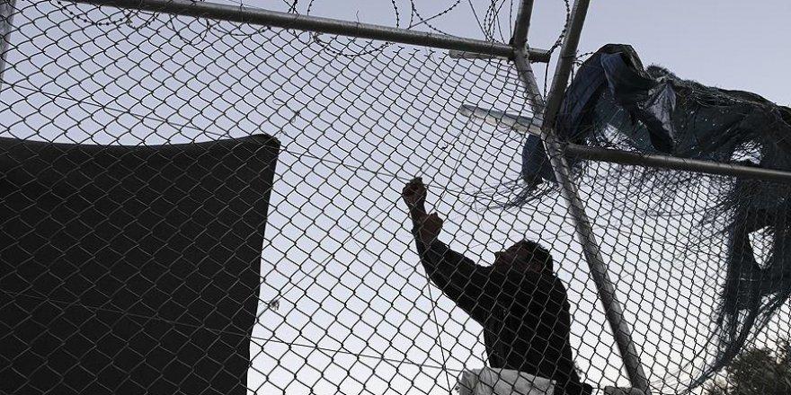 Göçmen kampı boşaltıldı