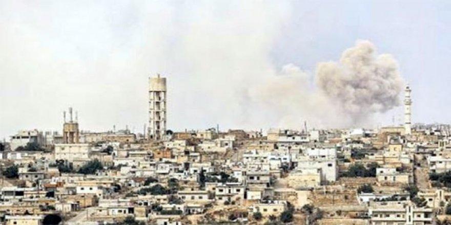 Esad rejimi Türkmenlerin bulunduğu bölgeleri vurdu